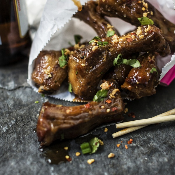 Roasted Sweet & Sour Pork Ribs